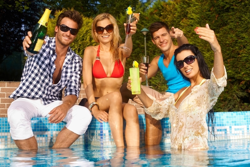 host the perfect pool party