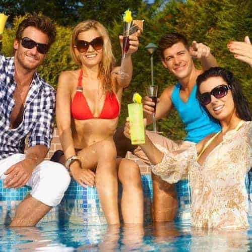 how to host the perfect pool party