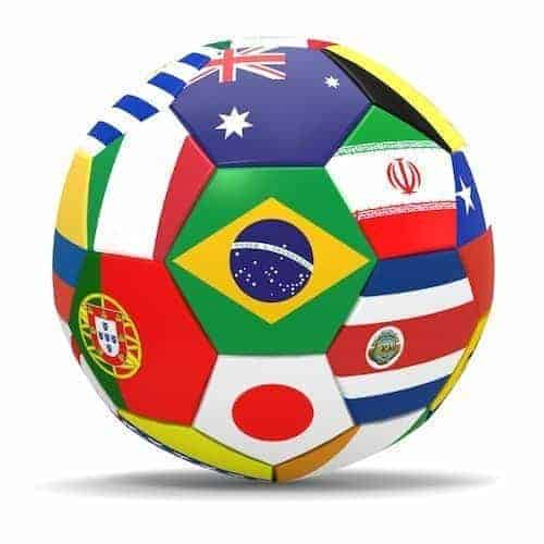World Cup Bean Bags
