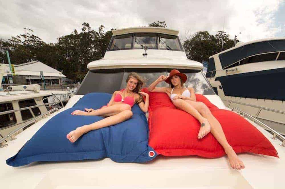 bean bags for boats