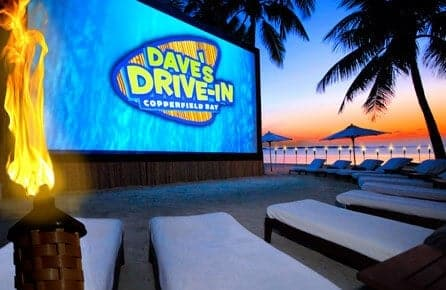 Musha Cay Outdoor Cinema