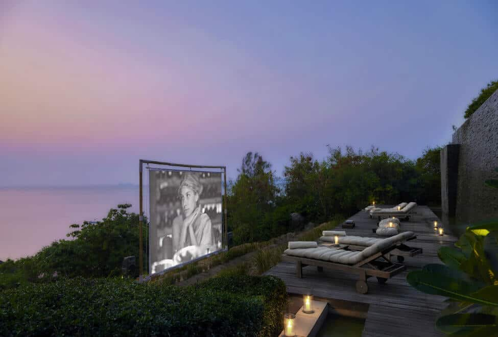 Six Senses Samui Outdoor Cinema