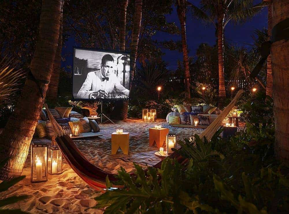beanbag cinema Miami Beach USA