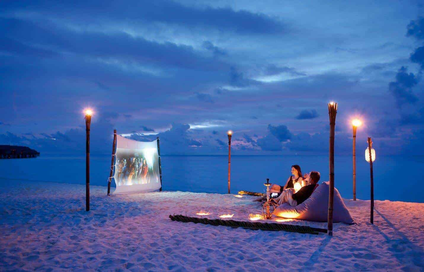 Cinefushi at Constance Moofushi beanbag cinema