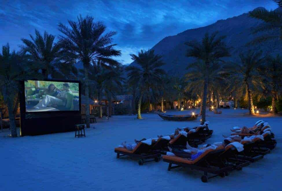 Six Senses Outdoor Cinema, Zighy Bay