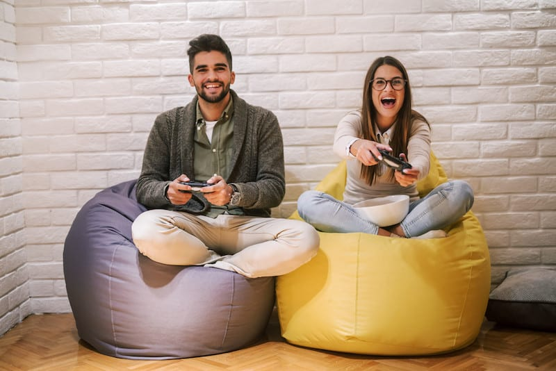 gaming bean bag chairs