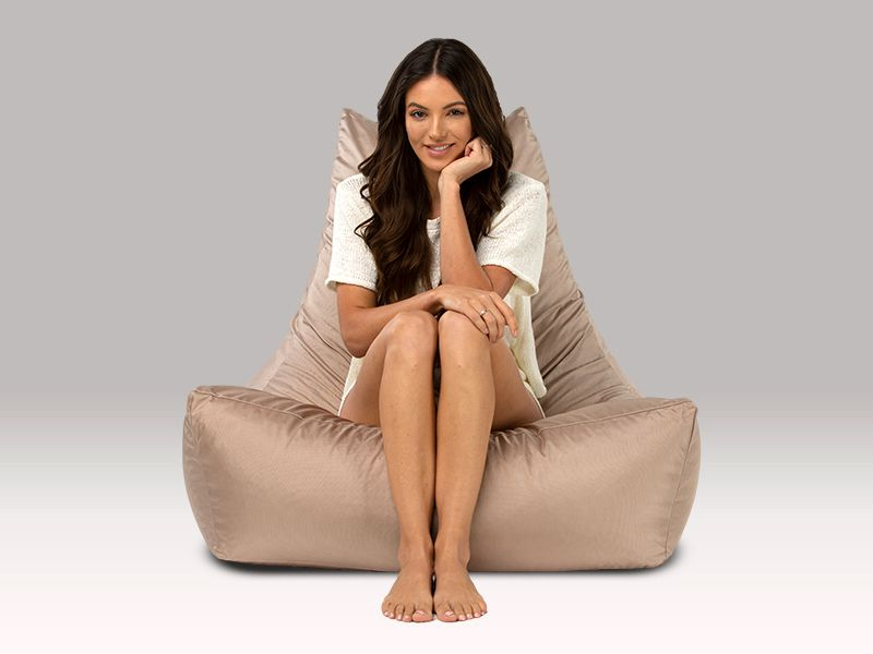 Merlin BeanBag Chair Taupe