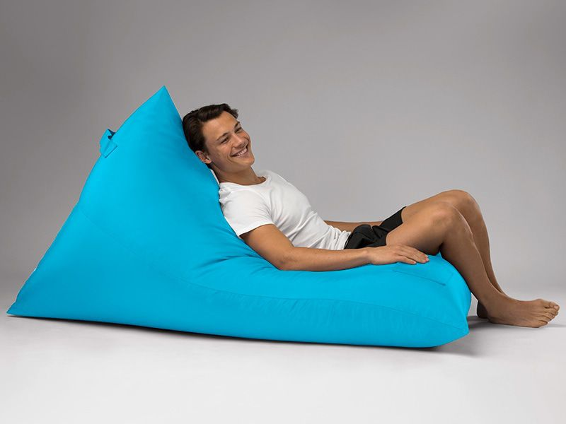 Bermuda Triangle Outdoor Bean Bag Lounge Aqua