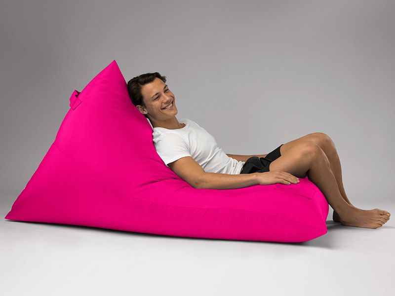 Bermuda Triangle Outdoor Bean Bag Lounge Pink