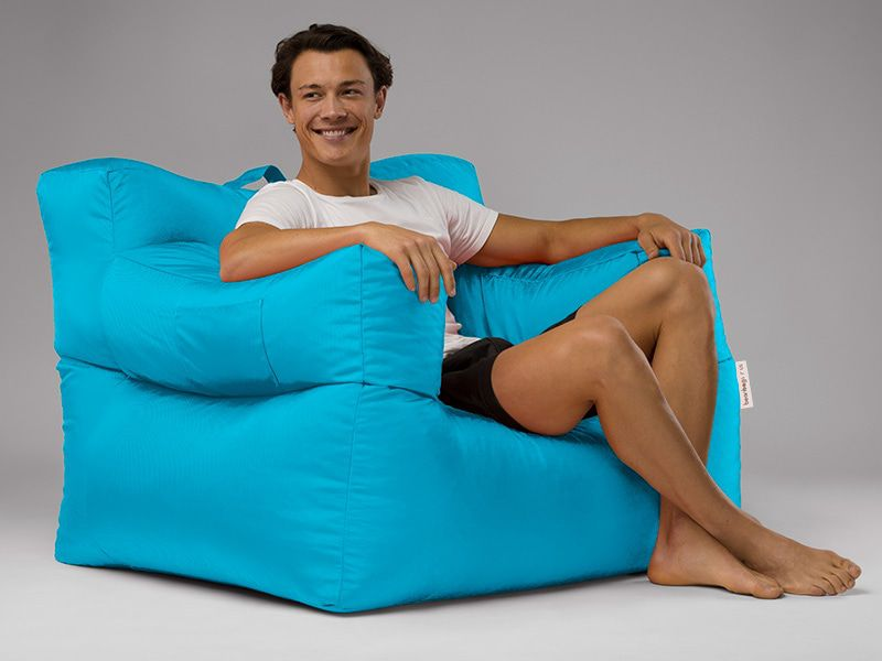 Big Bob Bean Bag Chair Aqua