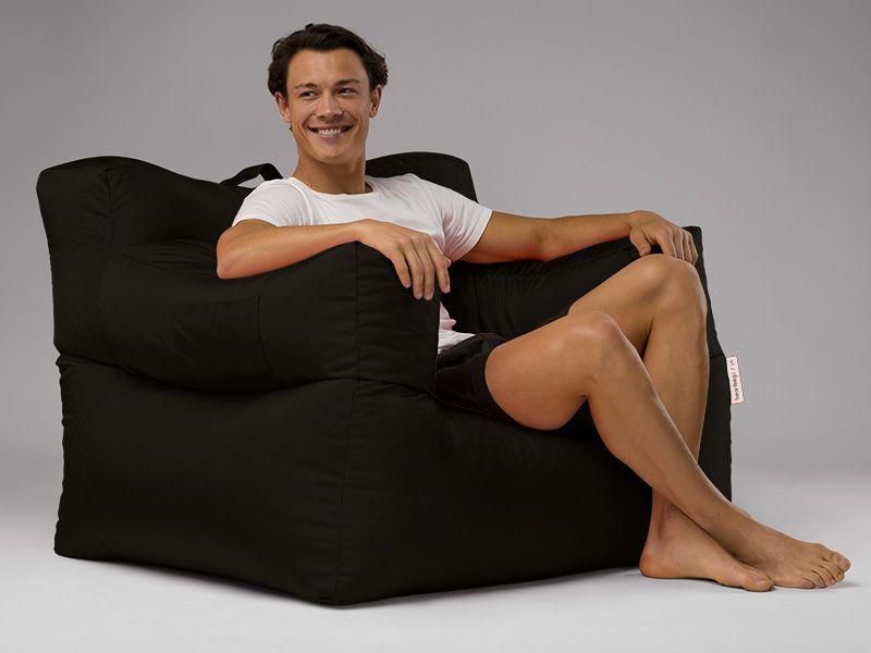 Big Bob Bean Bag Chair Black