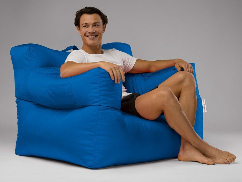 Bob Bean Bag Chair Blue