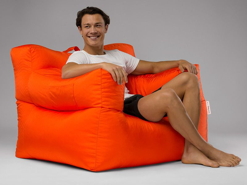 Big Bob Bean Bag Chair Orange