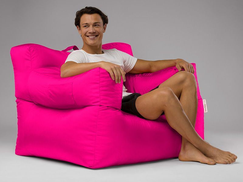 Big Bob Bean Bag Chair Pink