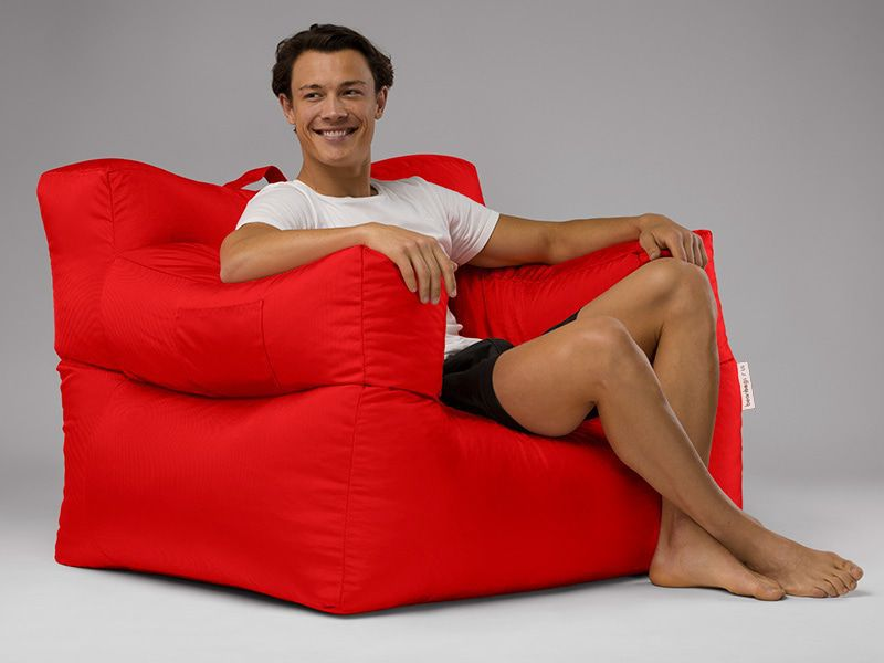 Big Bob Bean Bag Chair Red