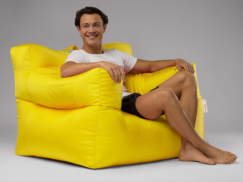 Big Bob Bean Bag Chair Yellow