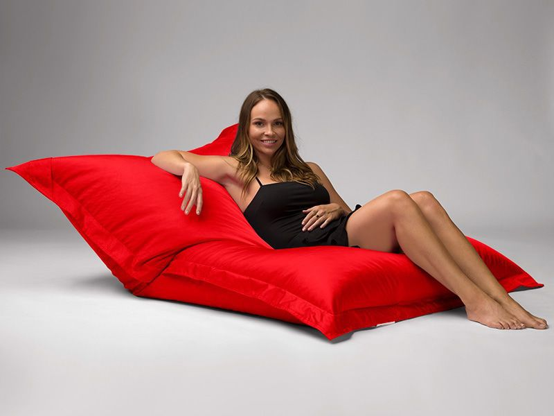 Big Mama Large Beanbag Red