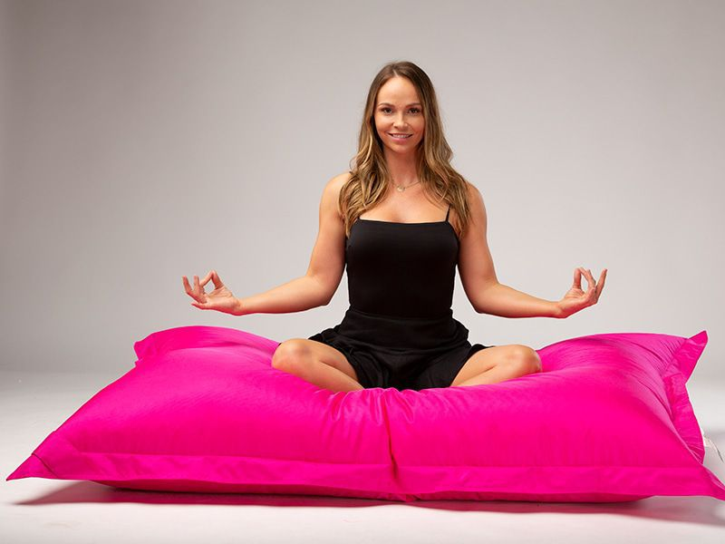 Big Mama Large Beanbag Pink Lady Yoga