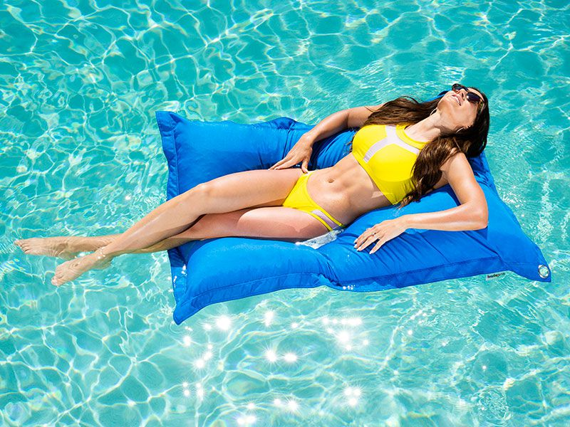 Cabo Pool Float blue
