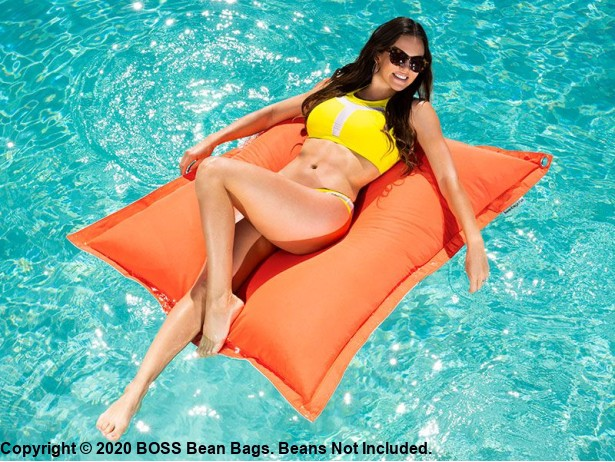 Cabo Pool Float Coral