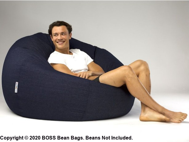 Cuba 44 inch Extra Large Bean Bag Cover