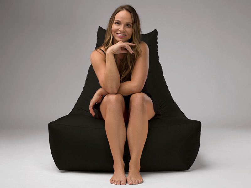 Merlin BeanBag Chair Black