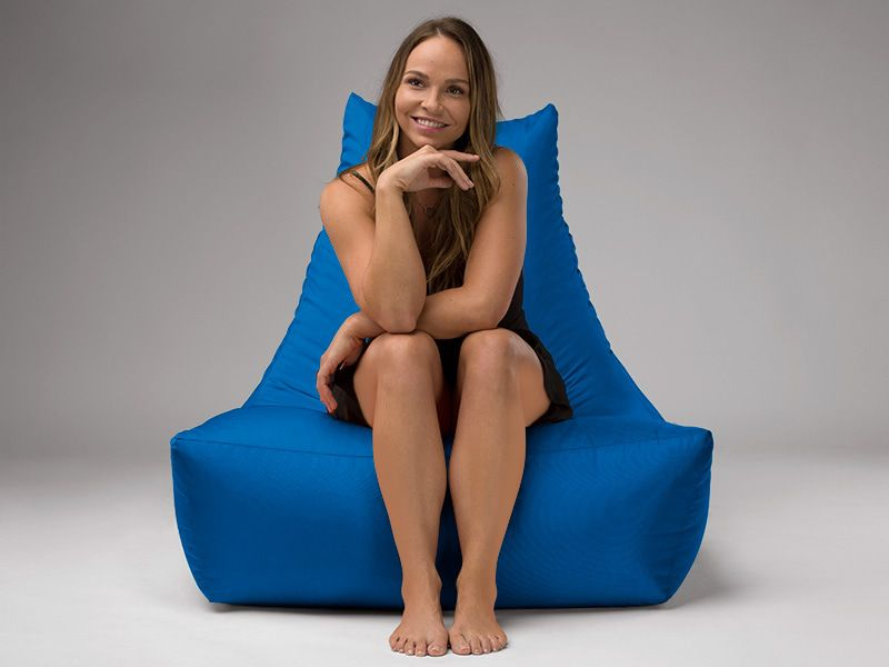 Merlin BeanBag Chair Blue