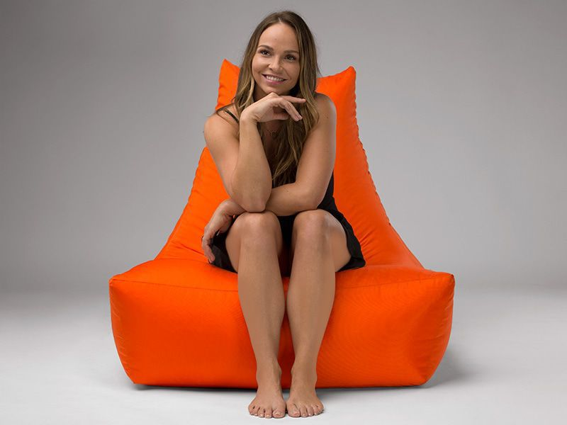Merlin BeanBag Chair Orange
