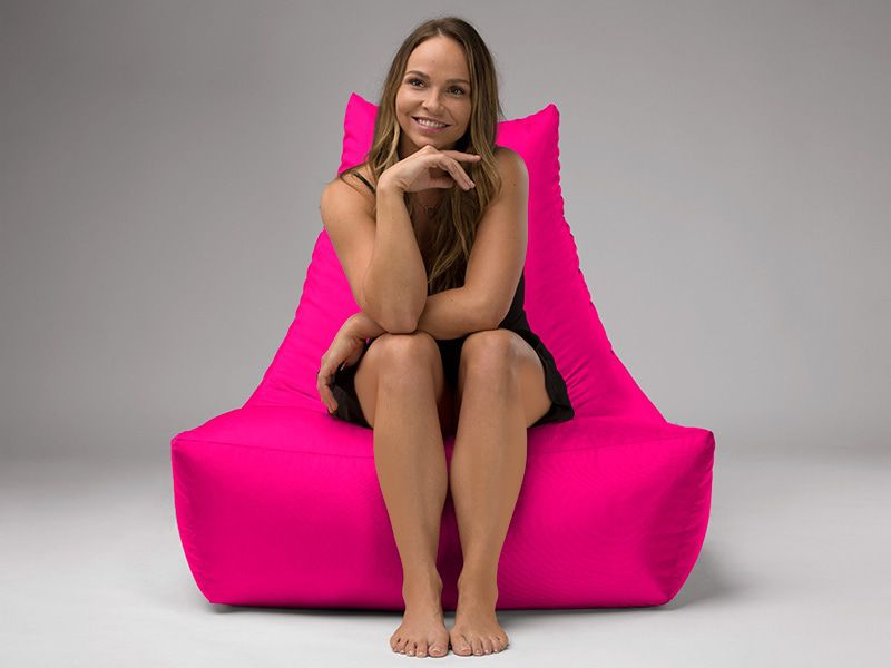 Merlin BeanBag Chair Pink