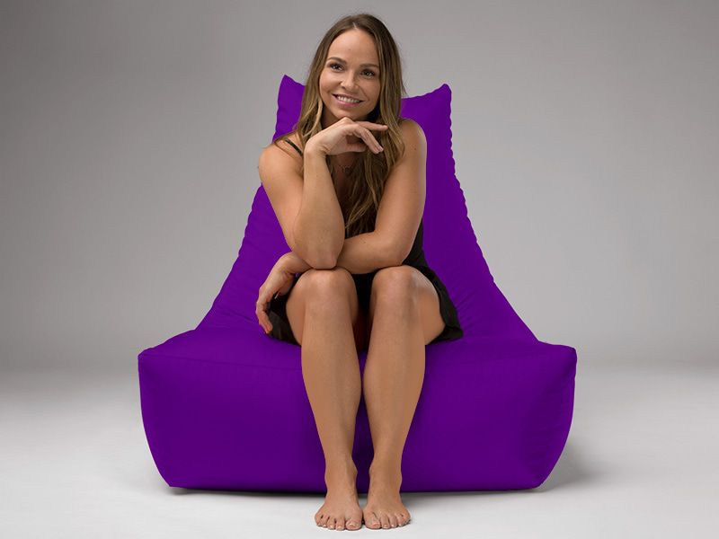 Merlin BeanBag Chair Purple
