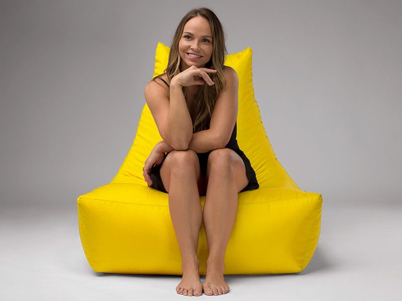 Merlin BeanBag Chair Yellow